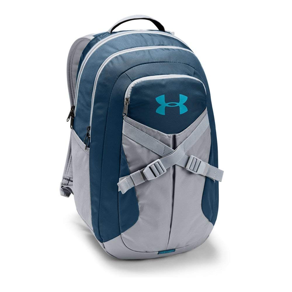 Under Armour Recruit Backpack 2.0, Techno Teal (489)/Deceit, One Size Fits all