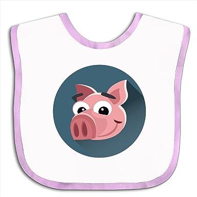 Amazon.com: Baberos de bebé con diseño de círculo de dibujos ...