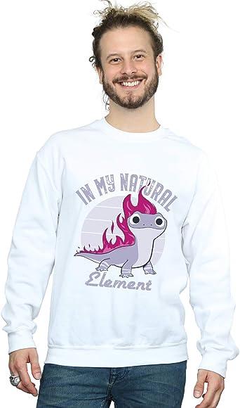 Disney Hombre Frozen 2 Salamander Bruni Element Camisa De Entrenamiento: Amazon.es: Ropa y accesorios