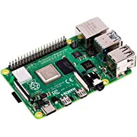 Raspberry Pi 4 Model B, 2GB (2GB) 2GB 2GB Negro Adaptador de Cable