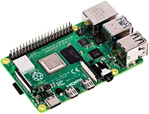 Raspberry Pi RPI4-MODBP-2GB - Single Board Computer, 4 Model B, BCM2711 SoC, 2GB DDR4 RAM, USB 3.0, PoE Enabled