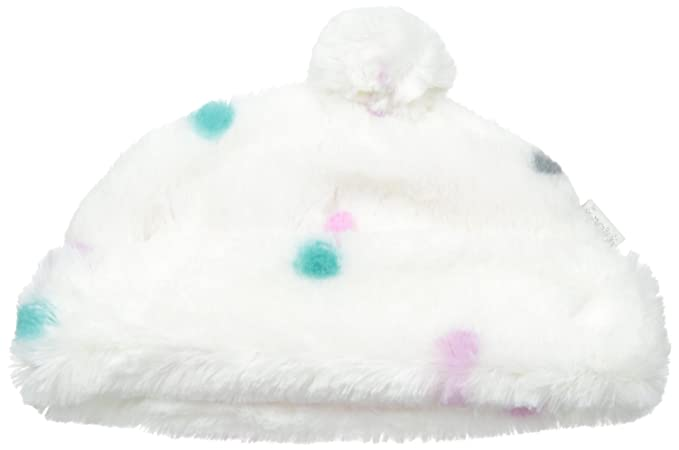 Amazon.com  Pumpkin Patch Baby Girls  Spotted Pompom Hat  Clothing 1672f2d3510