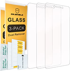 [3-PACK]- Mr.Shield For LeEco Le S3 [Tempered Glass] Screen Protector [0.3mm Ultra Thin 9H Hardness 2.5D Round Edge] with Lifetime Replacement