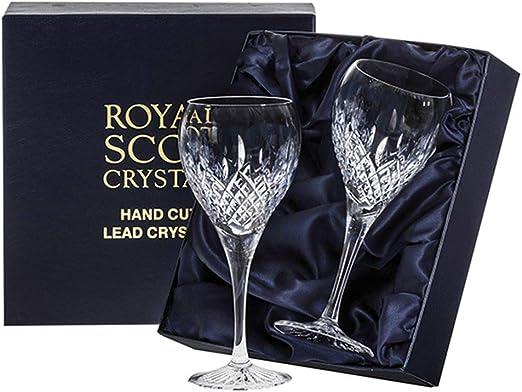 Royal Scott Crystal Mayfair - Juego de 2 copas de vino grandes ...