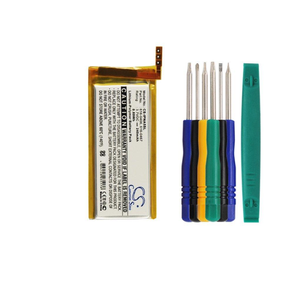 Bateria : Apple iPod Nano 5thiPod Nano 5 Gen With Tools Kit