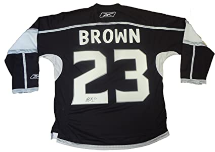 dustin brown signed jersey