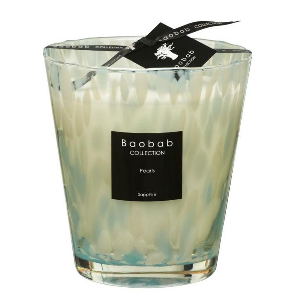 Baobab MAX16PS Pearls Sapphire Candle Candle Wax–16x 10x 16cm