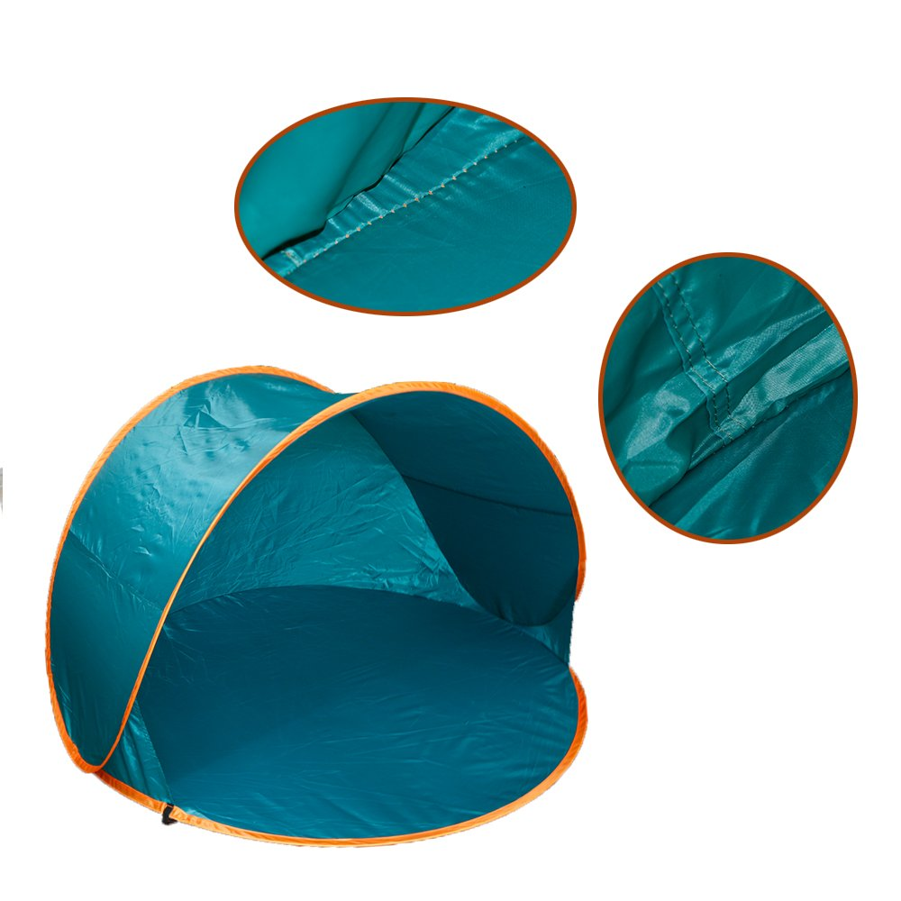 ポータブルポップアップサンシェルター UV/ウィンドテント UV保護 キャンプ ハイキング用 1~2人用   B00VWB6A3C