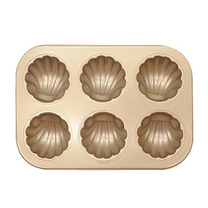 VANKER Molde para torta, molde de acero al carbono fácil de limpiar, moldes de