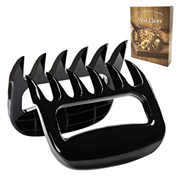 BBQ Meat Shredder Claws,Kitchen Bear Claws Meat Shredders - Pulled Pork Claws - Great for Chicken, Beef, Pork, More - BPA-Free(Pack of 2)