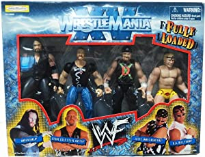 Amazon.com: WWE WWF Wrestlemania XV 15 Fully Loaded Box ...