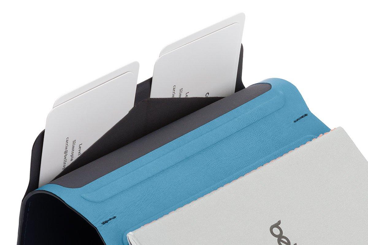 Cartera de Piel Bellroy para Hombre Notebook Cover Mini, Blue Steel: Amazon.es: Equipaje