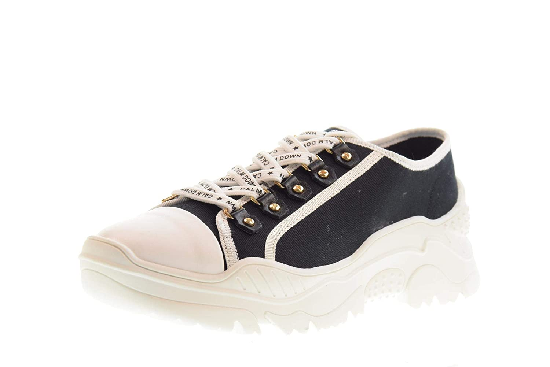 Gold&Gold Schuhe Schuhe Schuhe Frau niedrige Turnschuhe GT728 SCHWARZ 12395f