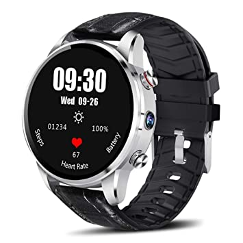 FYK&&SW Reloj Inteligente 4G Smart Watch Men 7.1 2MP Cámara 1GB + ...