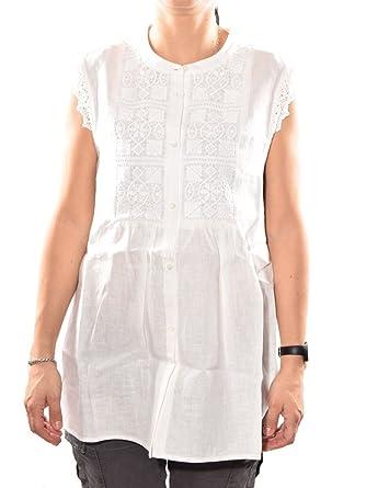 pas cher pour réduction le moins cher 2019 original Max Mara - Chemise - Femme Blanc 001 Bianco M: MainApps ...