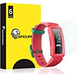 SPGuard Compatible with Fitbit Ace 2 for Kids LiQuidSkin Screen Protector [6 Pack], HD Anti-Bubble Full Coverage Screen…
