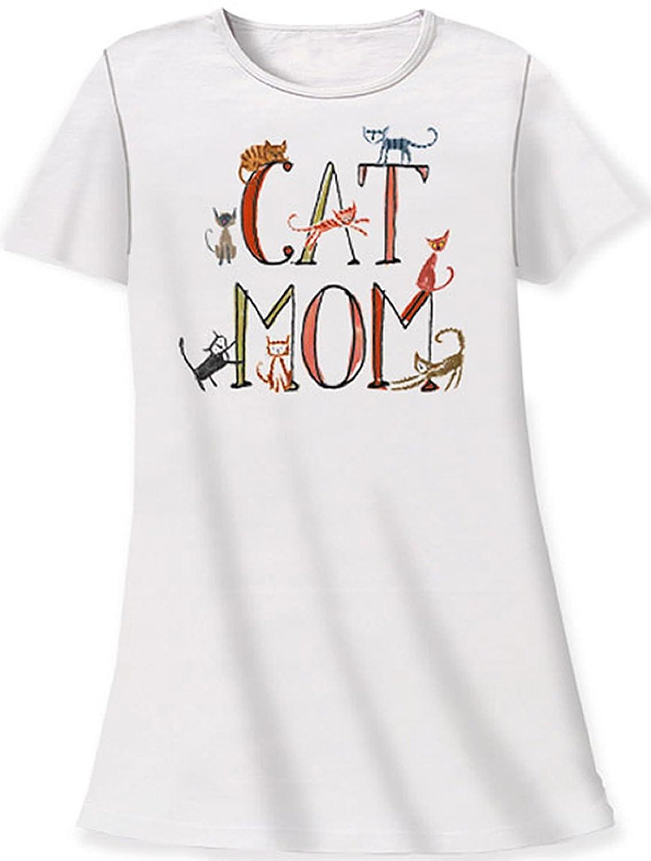 Nightshirt All Cotton Cat Mom c53f27b47