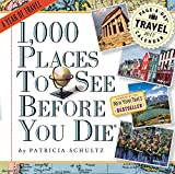 img - for 1,000 Places to See Before You Die Page-A-Day Calendar 2017 book / textbook / text book