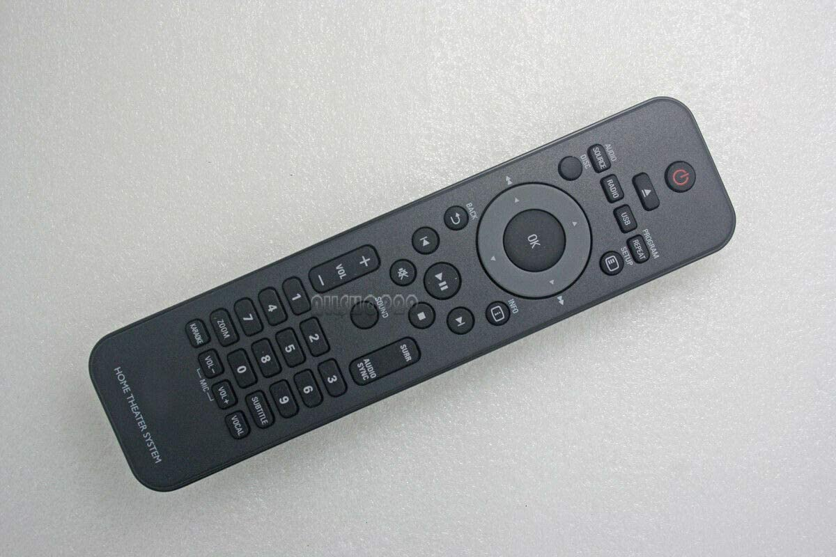Replacement Remote Control for Philips DVD/Home Theater Remote Control for HSB2351 HSB2351/F7 HSB2351F7