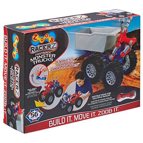 ZOOB RacerZ Fastback Monster Trucks