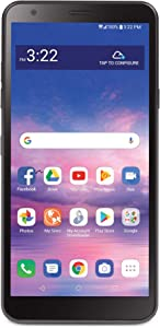 Tracfone LG Journey 4G LTE Prepaid Smartphone (Locked) - Black - 16GB - SIM Card Included - CDMA