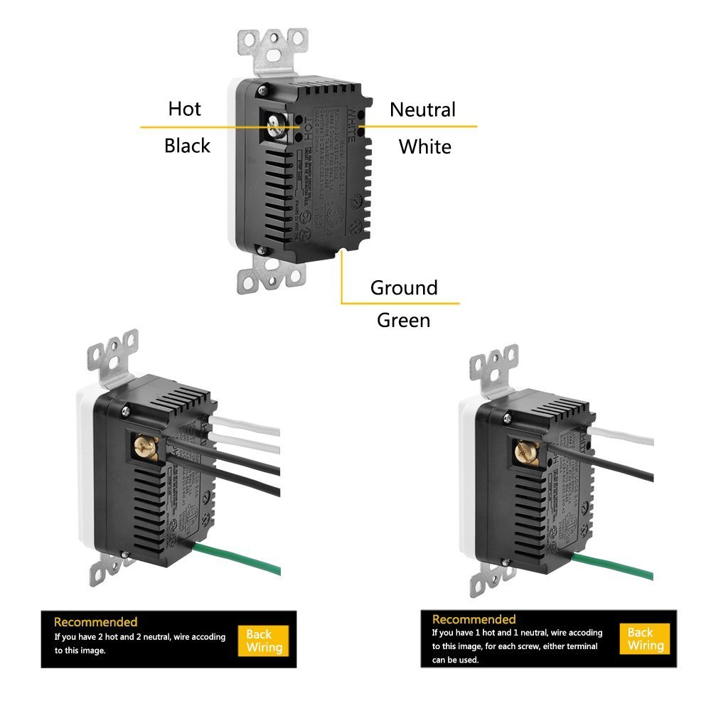 Bestten Wall Receptacle Array Connected To Port 1 Interrupter 3