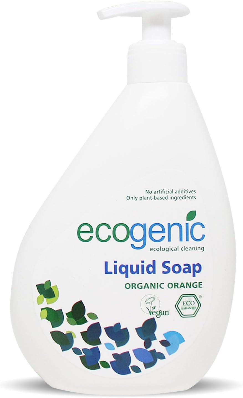 Ecogenic - Jabón líquido para manos, 500 ml, naranja ecológica ...