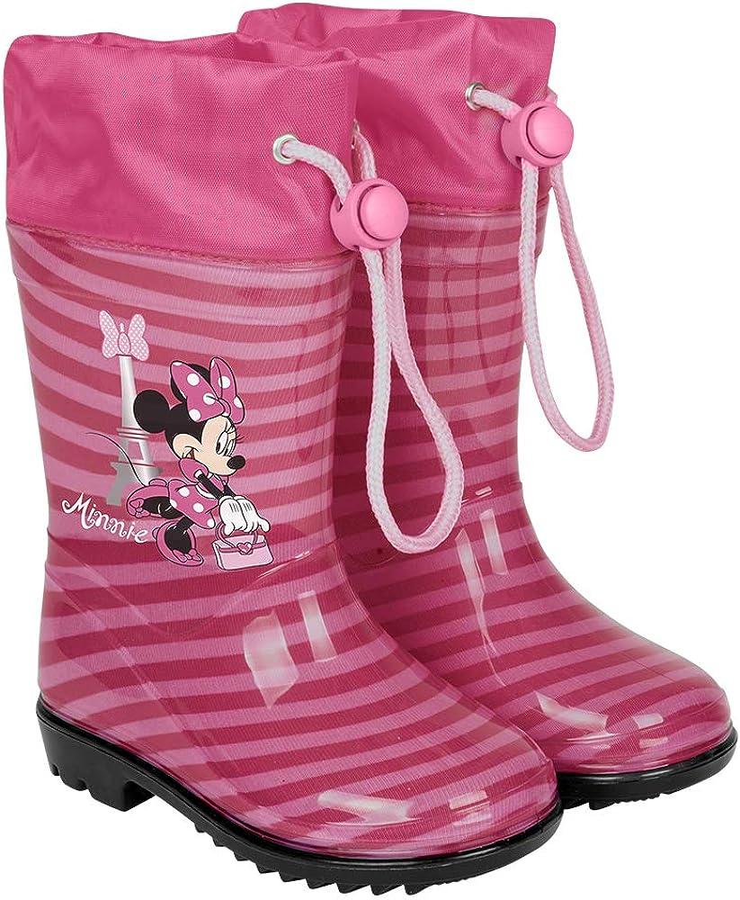 Disney Minnie Mouse Gummistiefel Regenschuhe für Kinder in rosa oder pink