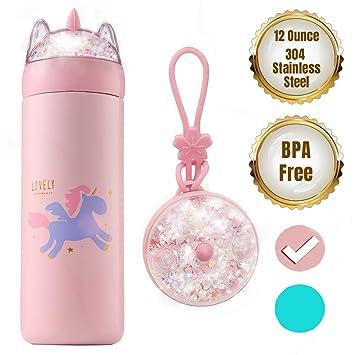 Amazon.com: KINIA - Botella de agua para niños con ...