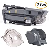 Kuuqa 2Pcs Lens Caps Accessories, Lens Hood Sun Shade Lens Hood Gimbal Protective Cover with Gimbal Guard Camera Fixed Protector for Dji Mavic Pro (Dji Mavic Not Included)