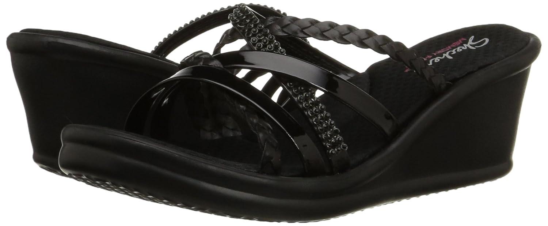 Skechers 38566BBK Sandalias con Plataforma para Mujer