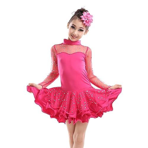 ede9b7fba Adorable youth Latin dance dress Latin Ballroom Dresses in 2018