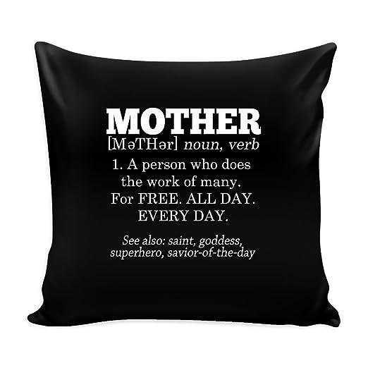 Definition Von Mutter Funny Dekoratives Kissen Cover Perfekte Geschenk Fur Mama Kommt In Verschiedenen