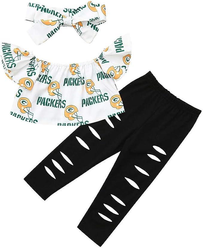 K-youth Ropa Niña Verano 0-4 años Conjunto de Ropa Bebe Recién Nacido Camiseta Sin Tirantes con Estampado de Carta y Agujero Vaqueros Pantalones con Banda de Pelo: Amazon.es: Ropa y accesorios