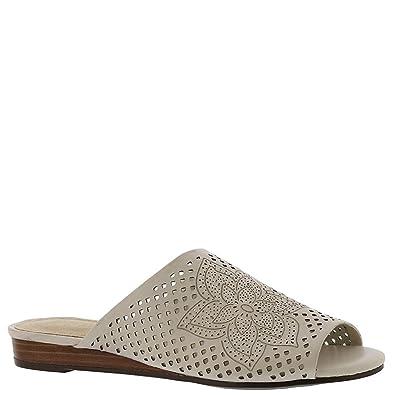 Aerosoles Womens BITMAP Slide Sandal Bone Leather