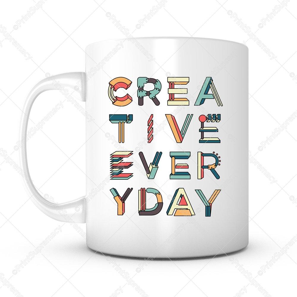 Creative Everyday-Gift Mug Ideas Coffee Mug for Artist/Photographer/Designer/Engineer/Writer/Musician/Birthday Gift/Graduation/Anniversary/Personalized/Valentine Day/Christmas gifts/Souvenir (1)