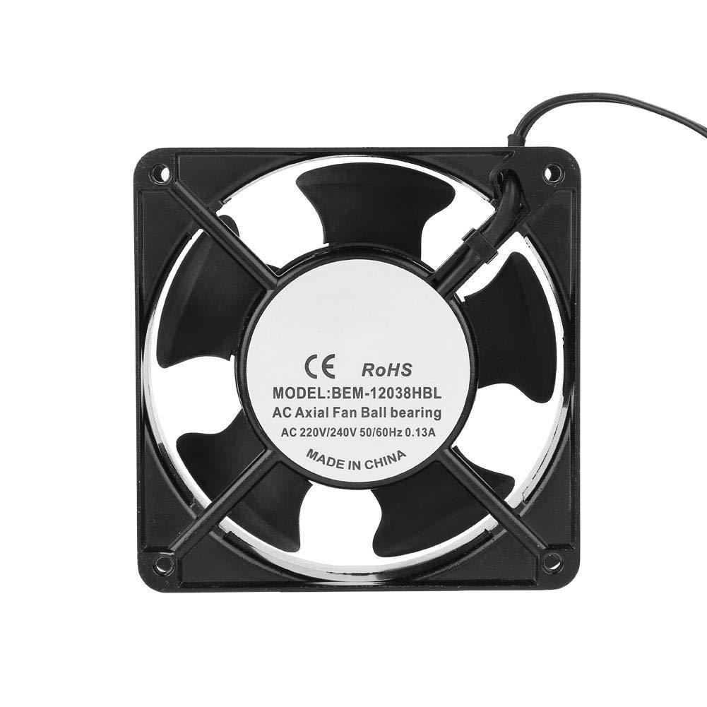Ventilador de Enfriamiento,Ventilador de Disipador Flujo de Aire Disipador de Calor Enfriador de Calor Rápida para Disipación de Máquina de Soldar,Electrodoméstico,Instrumentación,Hornos,Refrigerador