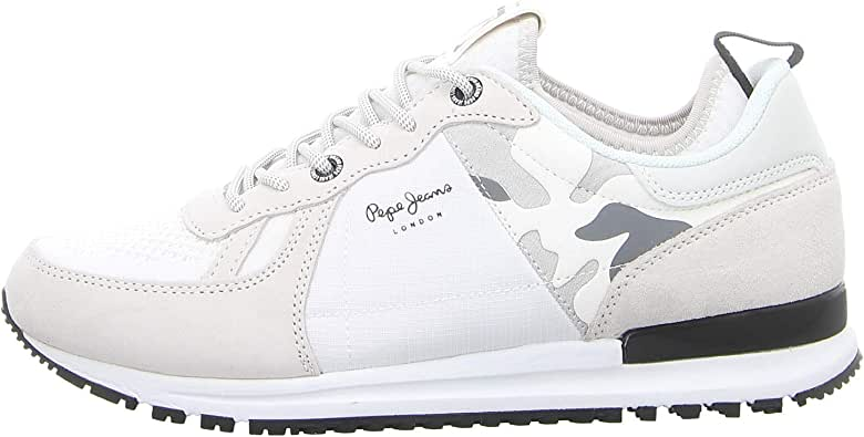 Zapatilla Pepe Jeans Tinker Pro 73.29 White 45: Amazon.es: Zapatos y complementos