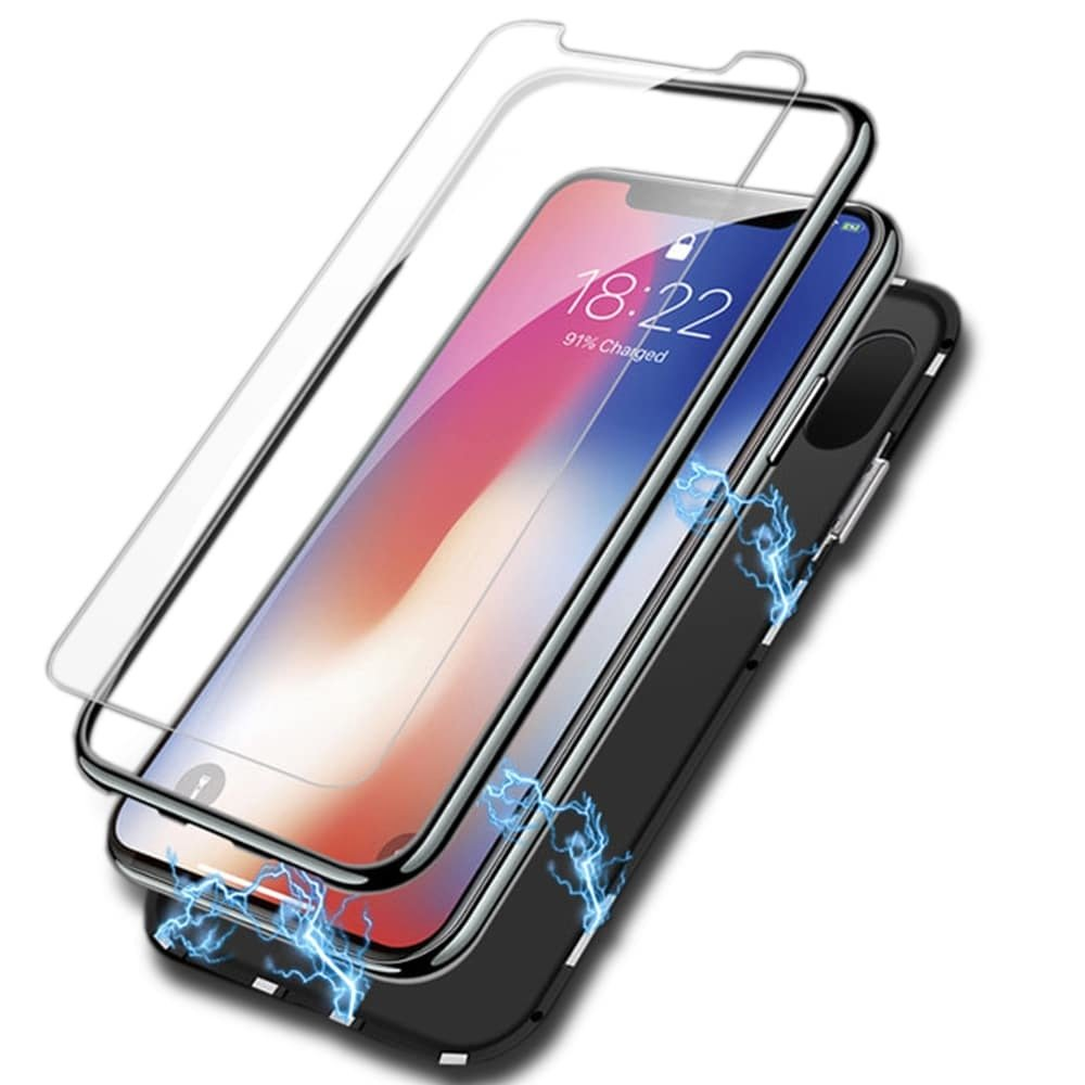 Amazon.com: Valuri - Carcasa magnética ultrafina para iPhone ...