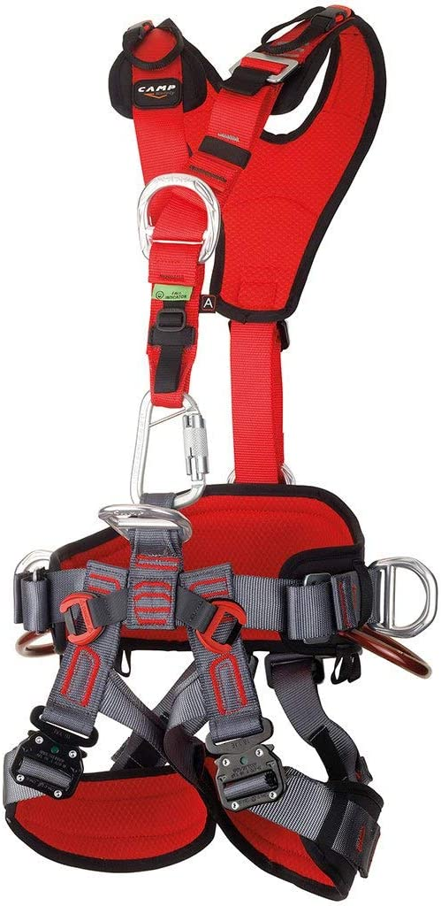 CAMP GT ANSI Fullbody Climbing Harness Size 2 Large to XXL ANSI Certified 2017 : Sports & Outdoors