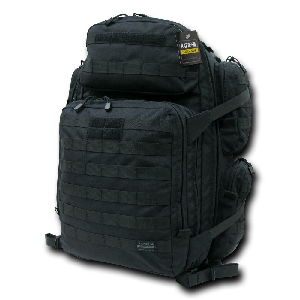 Rapdom Tactical Rapid 96 4 Day Pack, Black Rapid Dominance T302-BLK