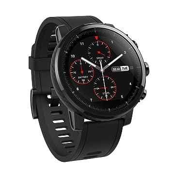 Xiaomi Amazfit Stratos - Smartwatch con GPS y Sensor de frecuencia cardíaca (Resistente al Agua 5ATM) Color Negro