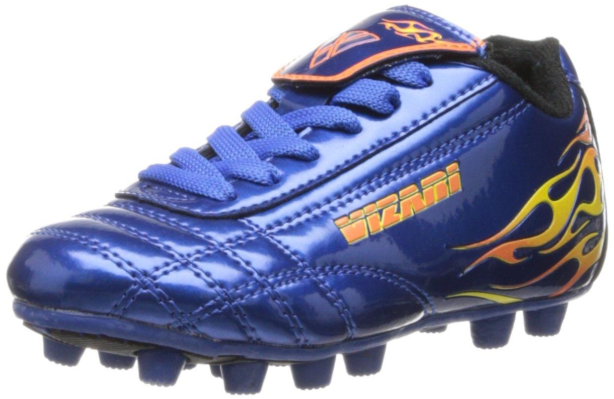 Vizari Blaze Soccer Cleat - Blue/Orange - 13 M US Little Kid