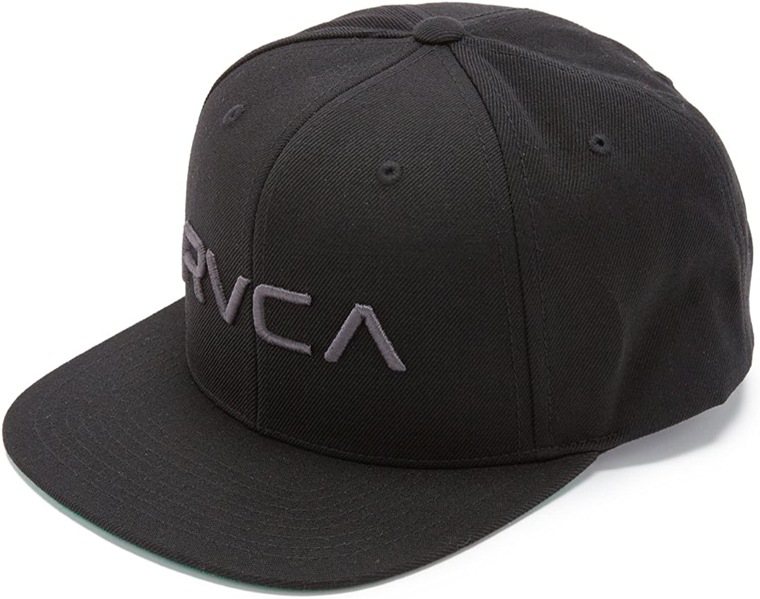 RVCA Rvca Twill Snapback Iii Hat Black 1SZ: Clothing