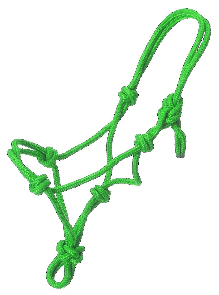 50-1000M-10-103-P Tough 1 Miniature Poly Rope Tied Halter JT International Inc