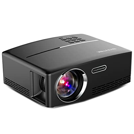 Amazon.com: byintek Pico proyector de bolsillo MD323 ...