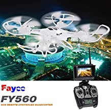 Fayee FY560 2.4G 6-Axis Gyro 5.8G FPV RC Quadcopter with 2.0MP Camera N3N7 ,#G14E6GE4R-GE 4-TEW6W231948