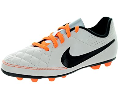88f858e3b Image Unavailable. Image not available for. Color  NIKE JR TIEMPO RIO II FG-R  Youth Molded Soccer Cleats ...