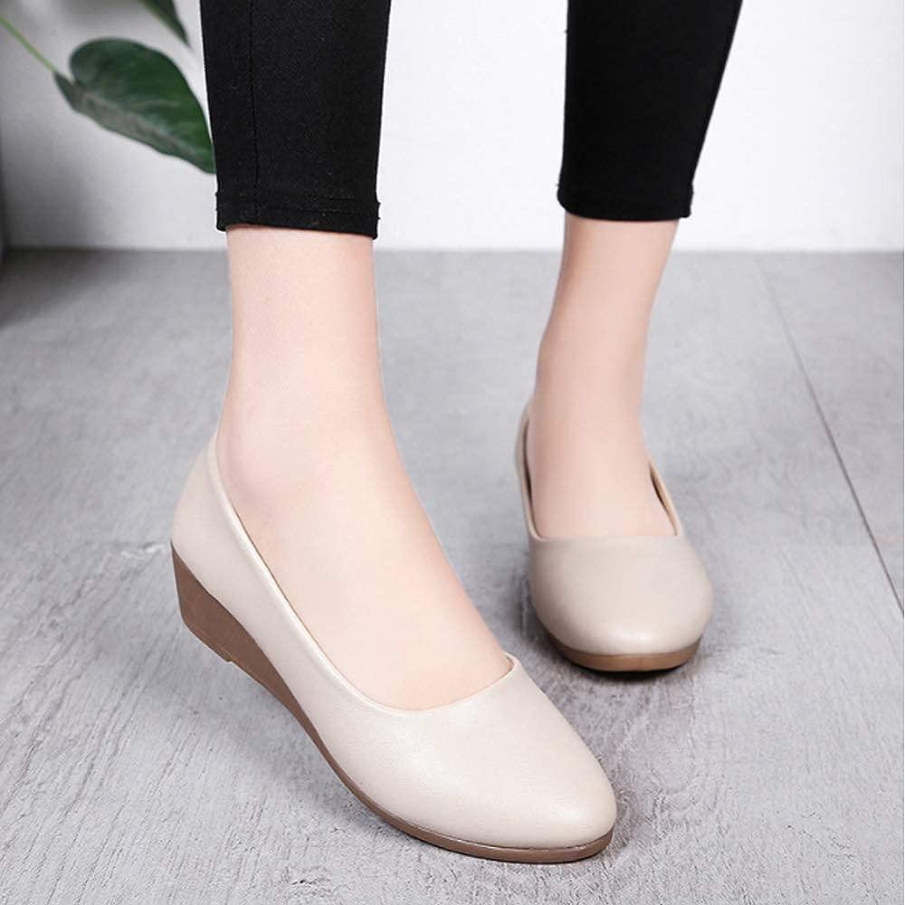 Yudesun Chaussures Femme Mocassins Chaussures à Talon Plat