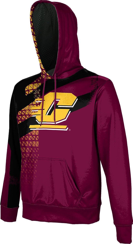 School Spirit Sweatshirt Central Michigan University Boys Pullover Hoodie Structure